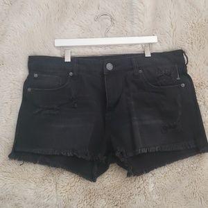 NWT STS Blue Nordstrom Black denim shorts